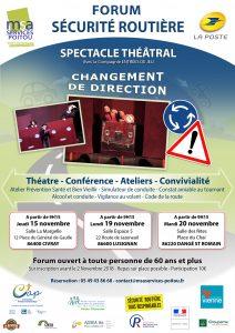 FORUM sur la Sécurité Routière - 86400 CIVRAY @ Salle La Margelle | Civray | Nouvelle-Aquitaine | France