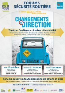 FORUM Ayez les bons réflexes ! - 86350 SAINT SECONDIN @ Salle des fêtes | Saint-Secondin | Nouvelle-Aquitaine | France