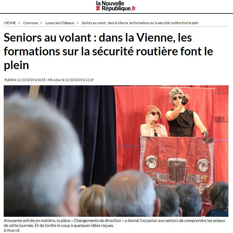 Forums Sécurité Routière à Vouillé 86