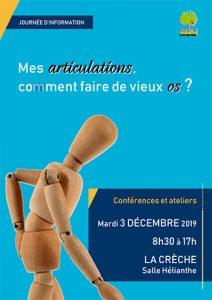 Conférences et ateliers - Mes articulations, comment faire de vieux os ? - 79260 La Crèche @ La Crèche | Nouvelle-Aquitaine | France