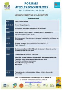 thumbnail of Programme et bulletin