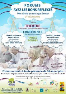 FORUM Ayez les bons réflexes !  79100 MAUZE-THOURSAIS @ Salle René Cassin | Mauzé-Thouarsais | Nouvelle-Aquitaine | France