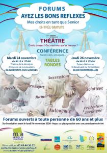 FORUM Ayez les bons réflexes ! - 86500 MONTMORILLON @ Espace Gartempe | Montmorillon | Nouvelle-Aquitaine | France