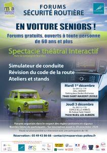 FORUM sur la Sécurité Routière - 79400 SAINT MAIXENT l'ECOLE @ Hall Denfert - Place Denfert-Rochereau | Saint-Maixent-l'École | Nouvelle-Aquitaine | France