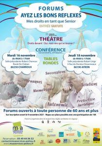 FORUM Ayez les bons réflexes ! - 86250 CHARROUX @ Salle polyvalente Robert Charroux | Charroux | Nouvelle-Aquitaine | France